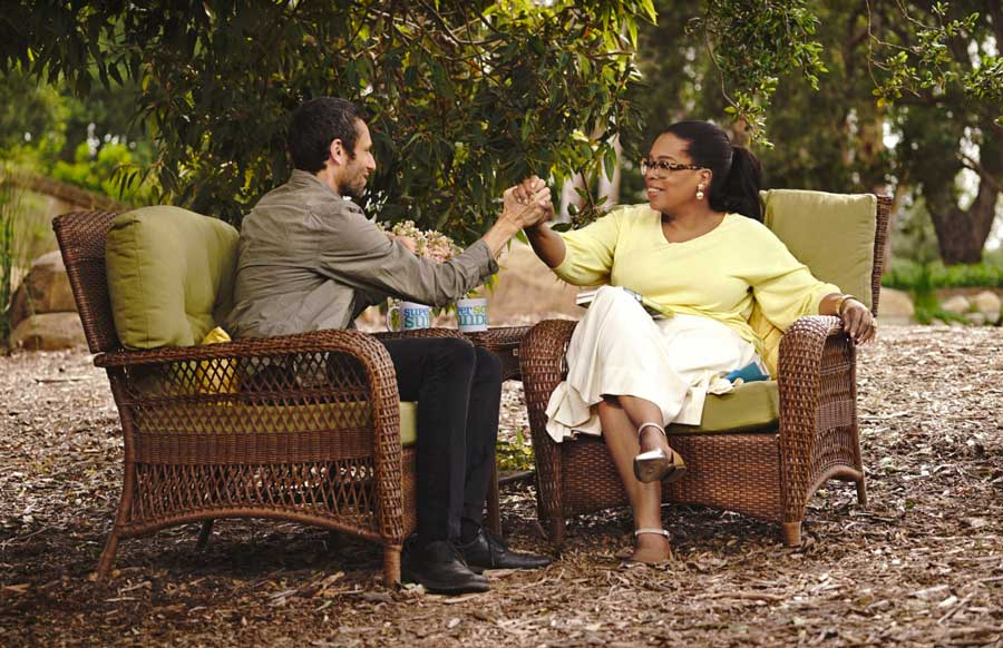 Charles Eisenstein and Oprah Winfrey