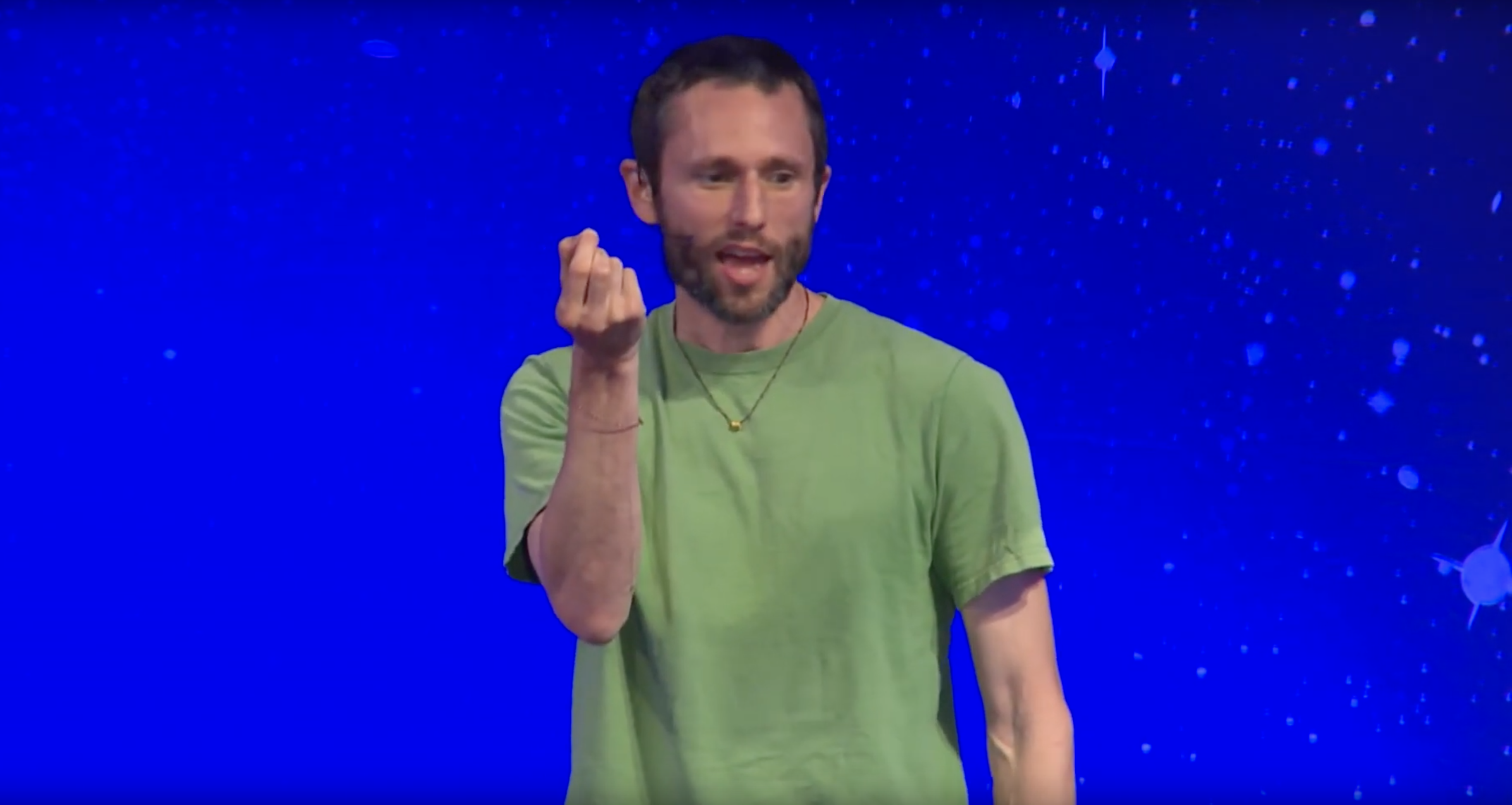 Charles Eisenstein Speaks at the Science and Non-Duality Conference
