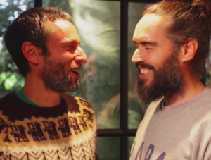 Russell Brand and Charles Eisenstein on the Under the Skin podcast